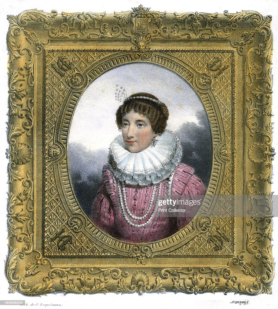 'Woman in Elizabethan dress', c1819Artist: G Engelmann : Fotografía de noticias