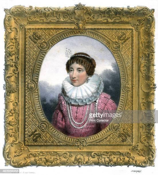 'Woman in Elizabethan dress' c1819