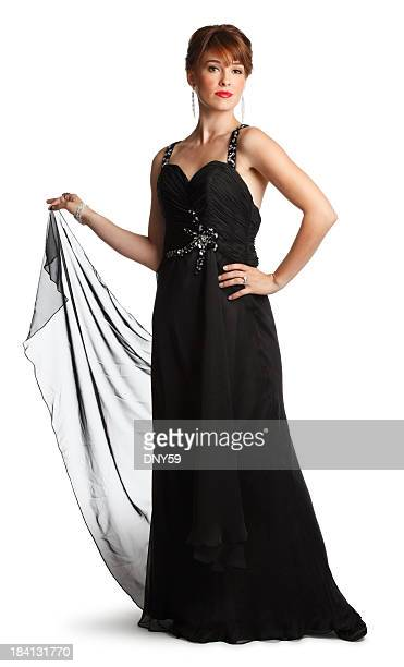 Woman In Evening Gown