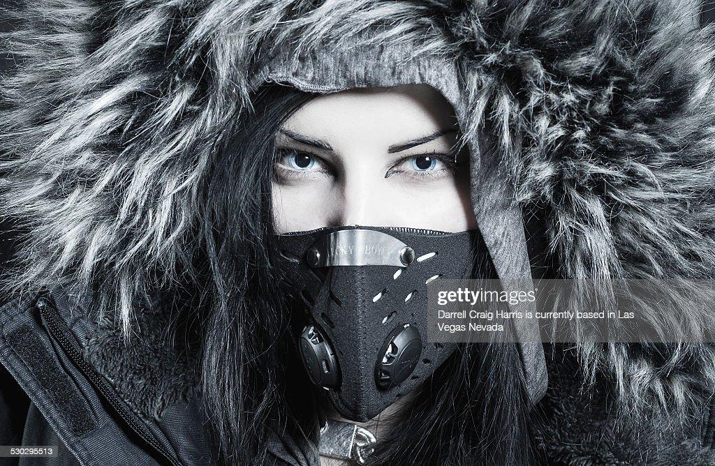 Woman in Helsinki Finland : Stock Photo