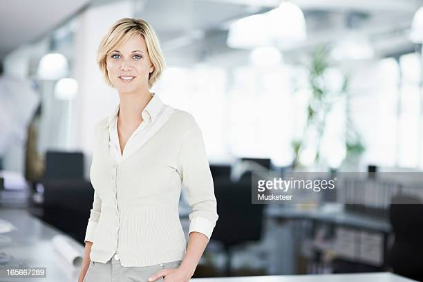 woman in her office - smart casual stock pictures, royalty-free photos & images