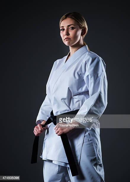 Frau in kimono
