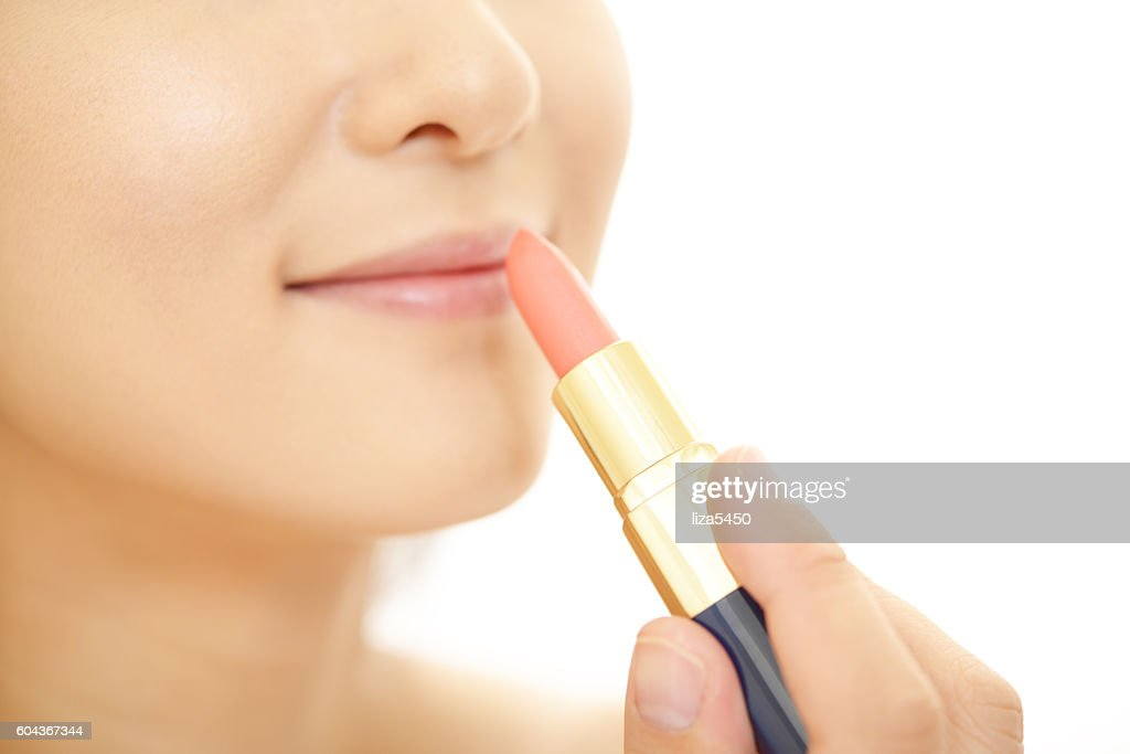 Woman in makeup : Stock Photo