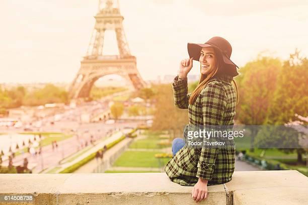 Frau in Paris