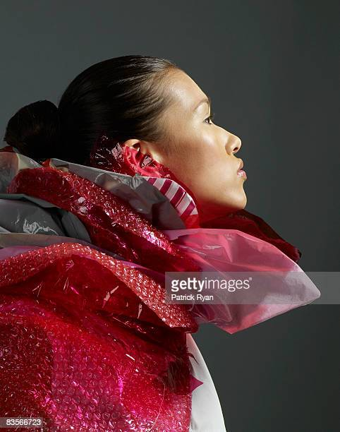 Woman in Recycled Ruff