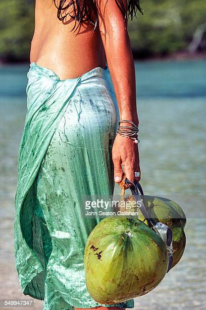 Woman in sarong