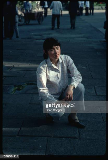 Woman in Shanghai