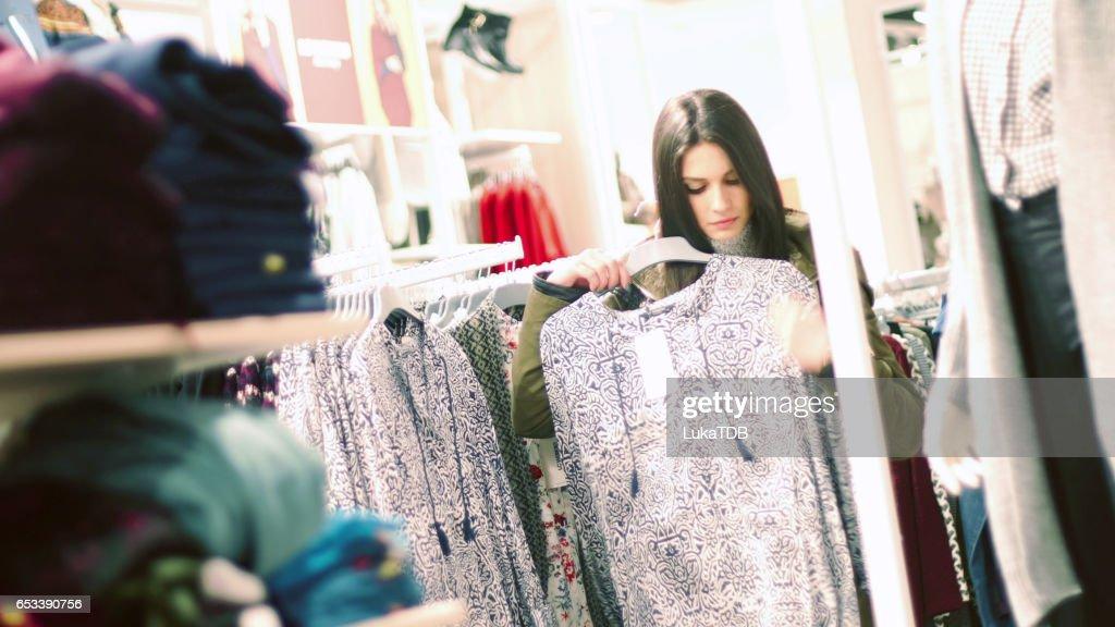 女性のショッピング : ストックフォト