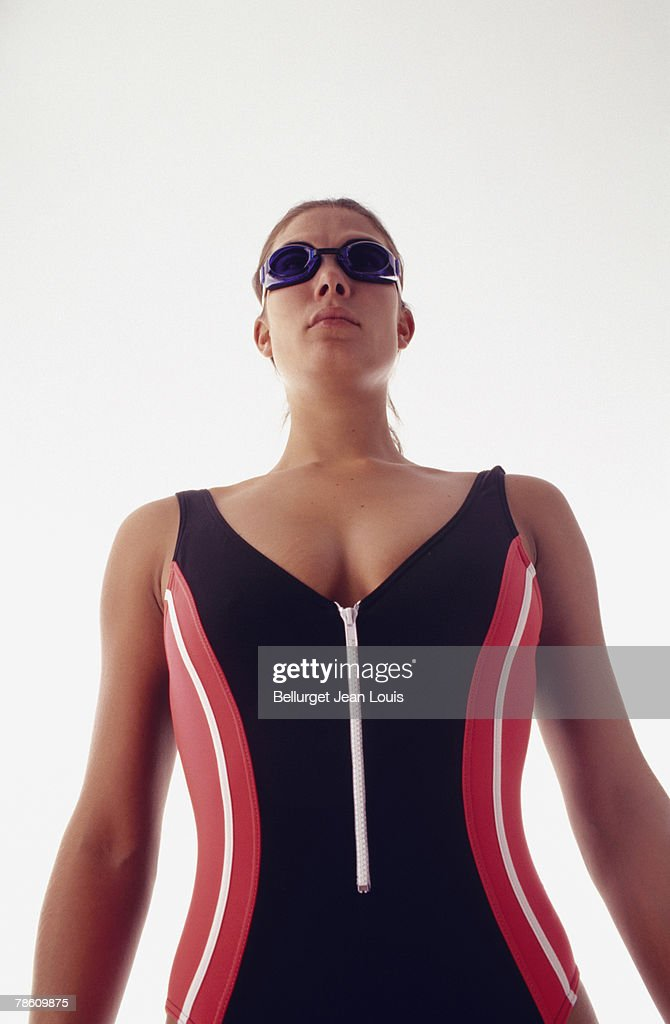 Woman in swimsuit : Stock Photo