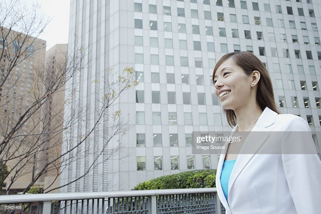 Woman in the city : Stock Photo