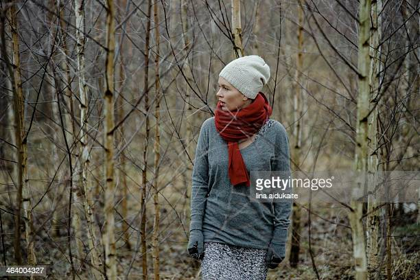 woman in the forest - eastern european descent stock pictures, royalty-free photos & images