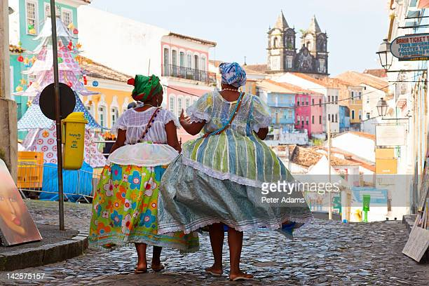 Woman in Traditional Dress, Bahia, Brazil