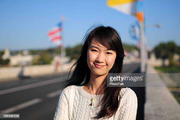 woman in travel - xlarge - curvy asian woman stock pictures, royalty-free photos & images