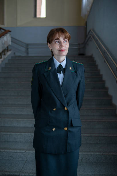 woman in uniform