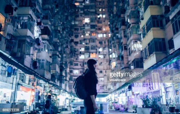woman in urban environment - wonderlust stock pictures, royalty-free photos & images