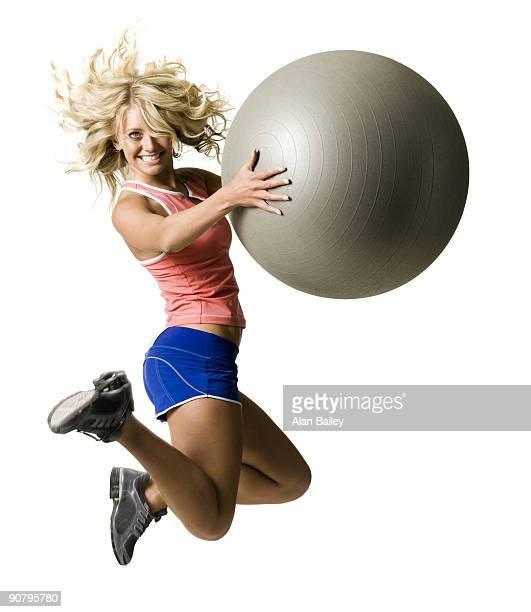 woman in workout gear