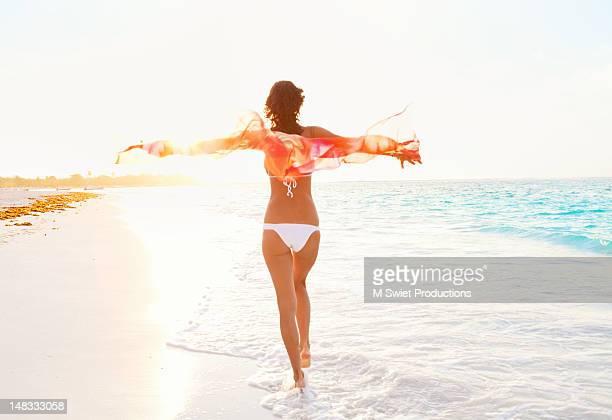 Woman joy