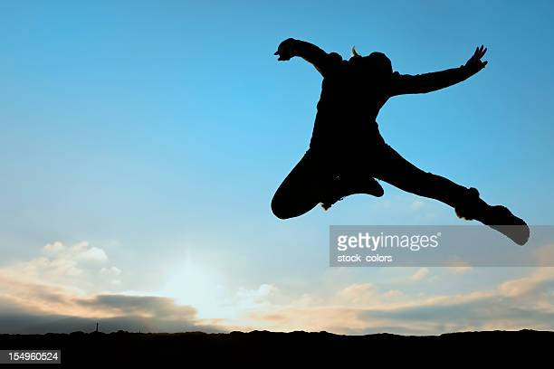 woman jumping - women's field event stock pictures, royalty-free photos & images