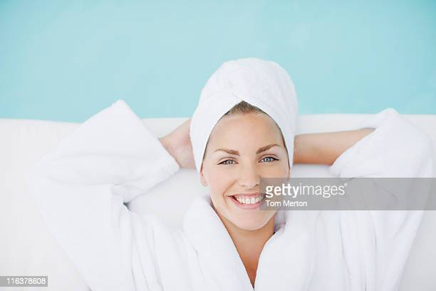 woman laying poolside - health farm stock pictures, royalty-free photos & images