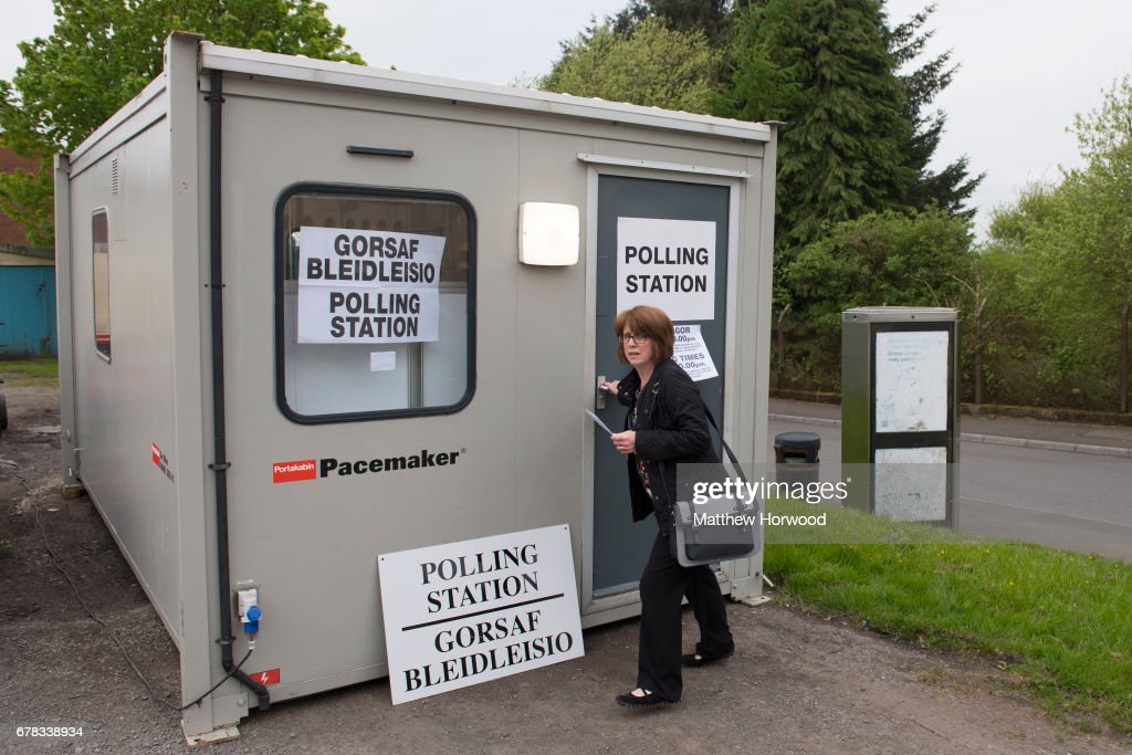 British Voters Go To The Polls In The Local Council Elections : News Photo