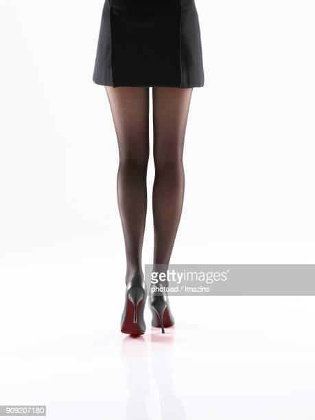 Woman leg line