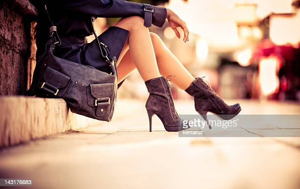 Donna gambe