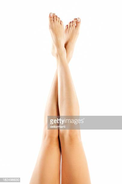 woman legs - pretty white girls stock photos and pictures