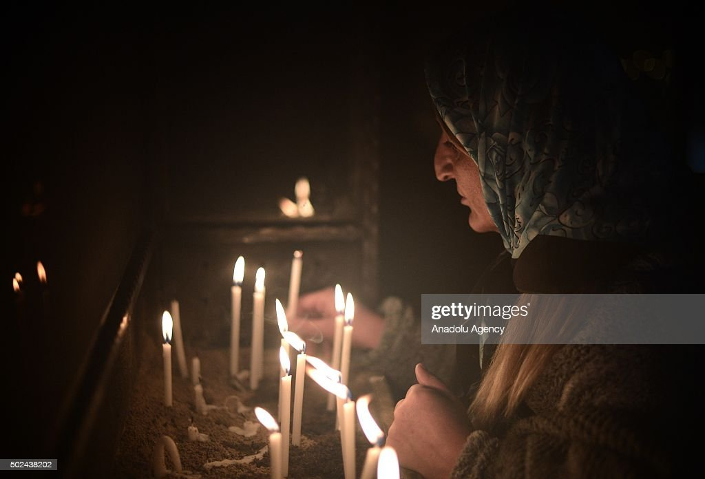 Christmas mass at the House of Virgin Mary in Turkey : News Photo