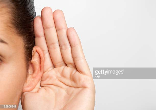 Woman Listening (XXL)