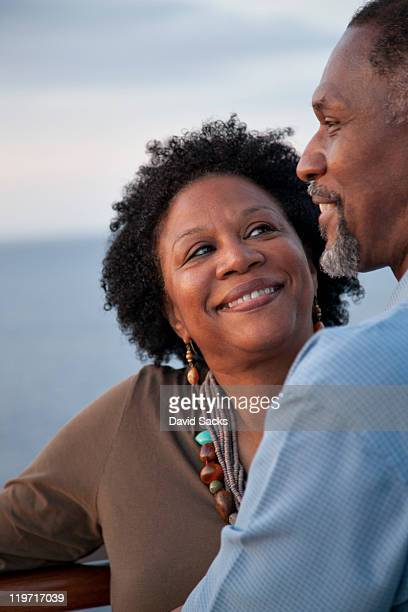 woman looking at man - marryornot stock pictures, royalty-free photos & images