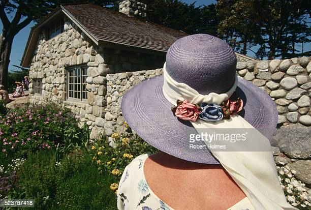Woman Looking at Tor House