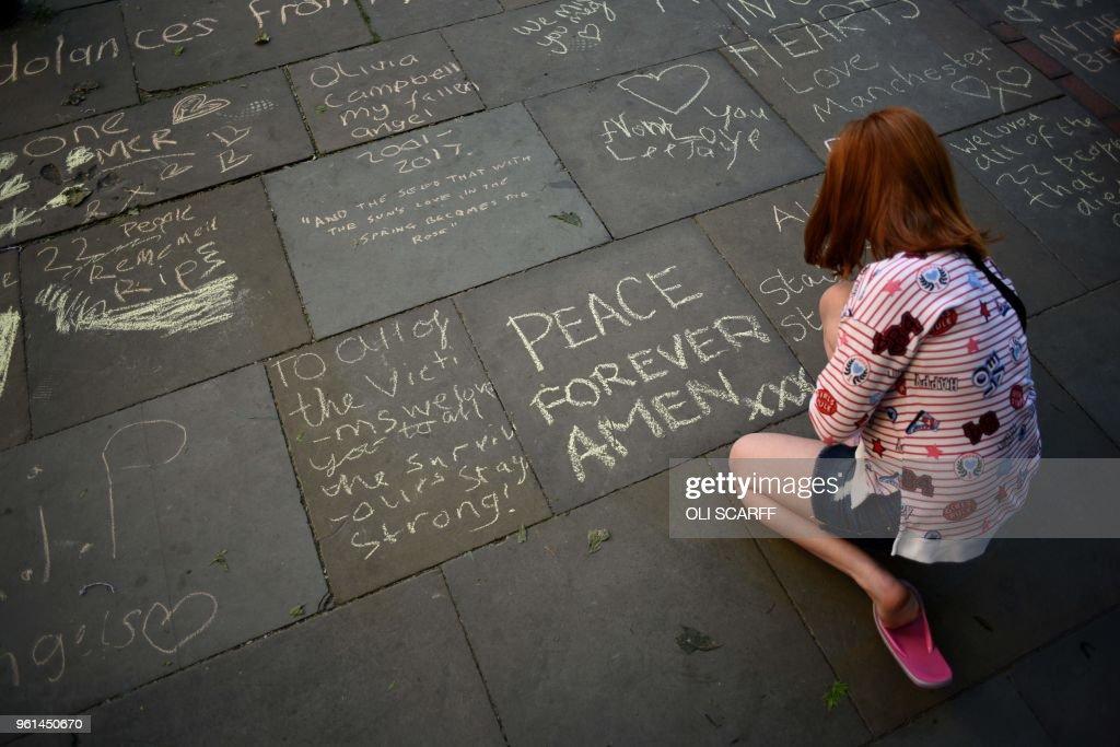 BRITAIN-ATTACKS-ANNIVERSARY : News Photo