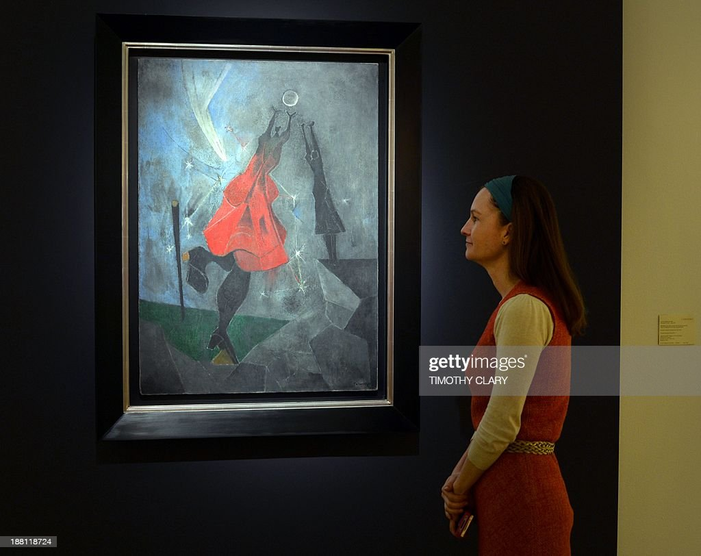 US-ART-AUCTION-CHRISTIES-LATIN-AMERICAN : News Photo