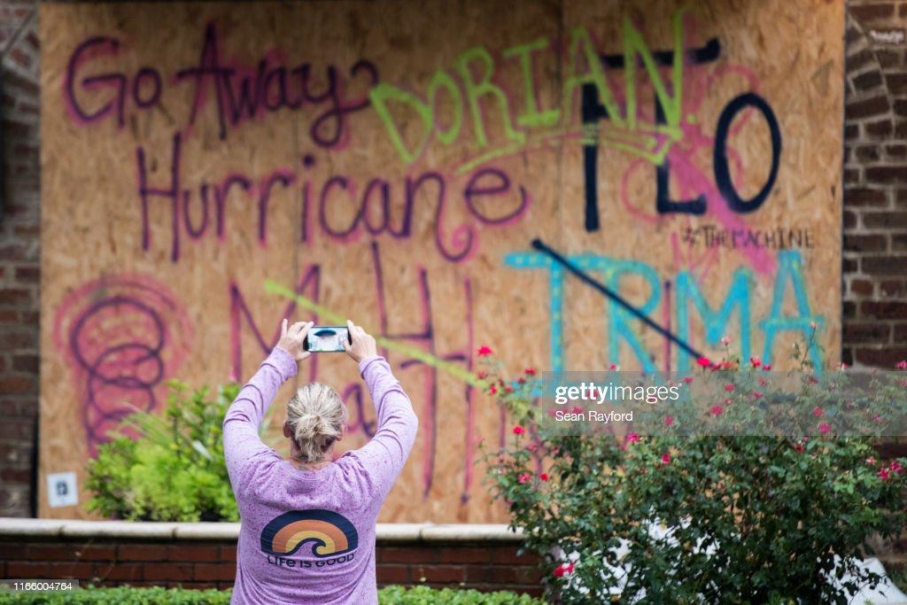 Hurricane Dorian Makes Its Way Up East Coast : News Photo