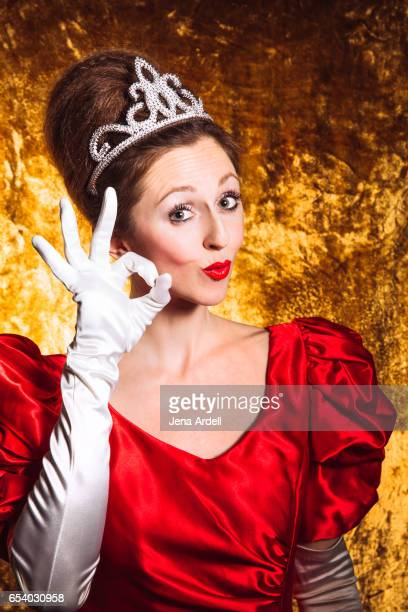 Woman Making OK Sign With Hands
