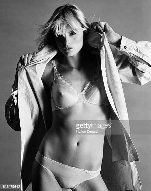 Woman Models 1980's Underwear