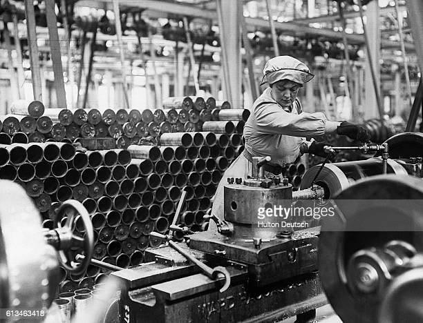 Woman Munition Worker During Great War