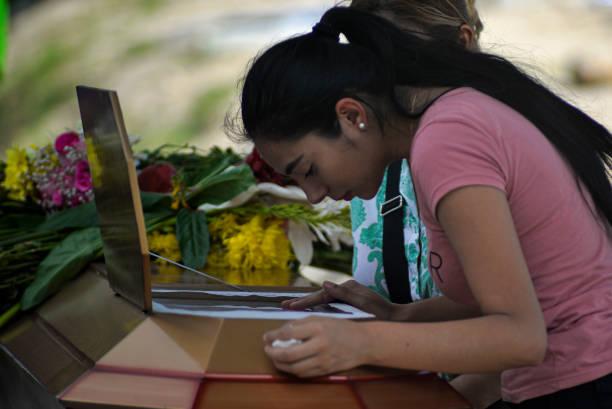 SLV: Burial of Transgender Woman Briyit Alas in San Salvador