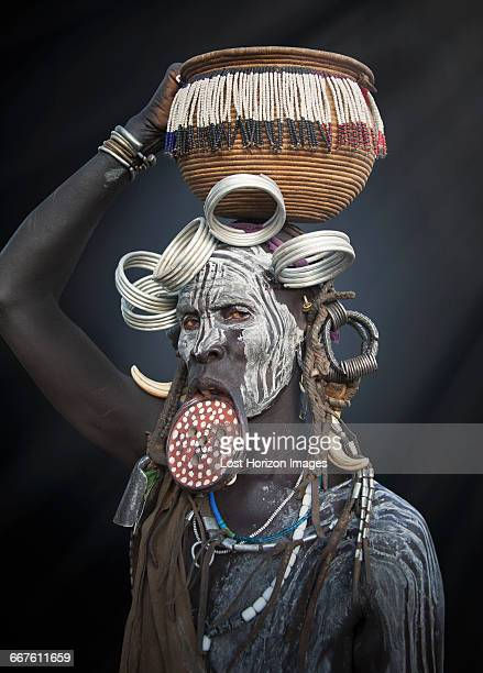 Woman of the Mursi Tribe, Omo Valley, Ethiopia