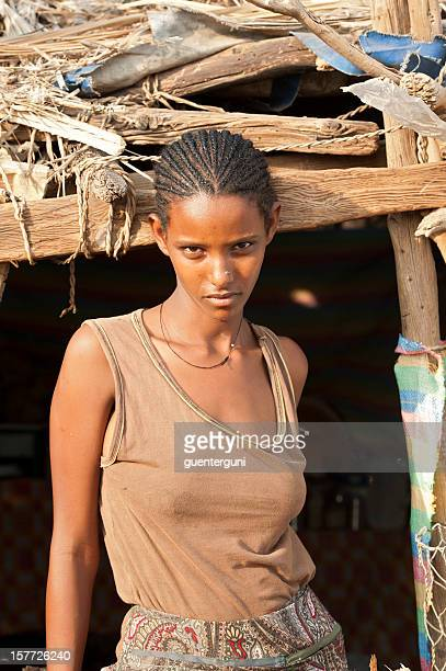Ethiopian Hairstyle Stock Photos And Pictures Getty Images - Ethiopian hipster hairstyle