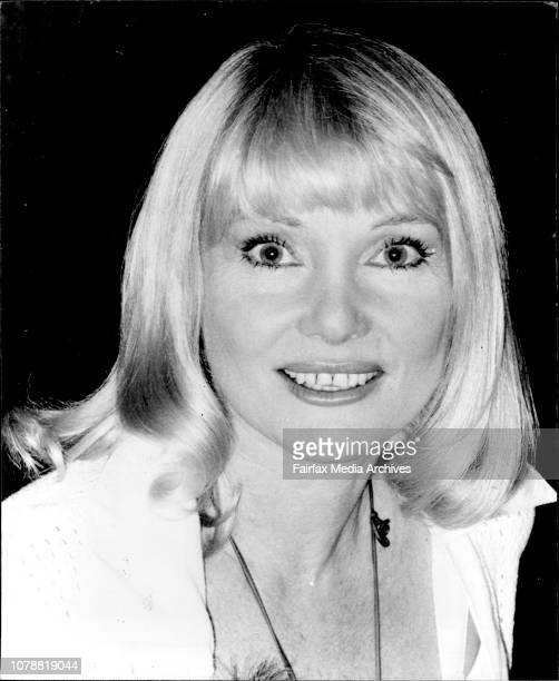 Woman of the year luncheon at Hilton Hotel Diane Cilento November 7 1977