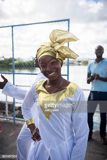 Woman on St. John's, Antigua and Barbuda