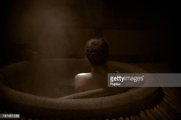 Woman onsen
