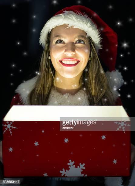 weihnachtsfrau stock fotos und bilder getty images. Black Bedroom Furniture Sets. Home Design Ideas