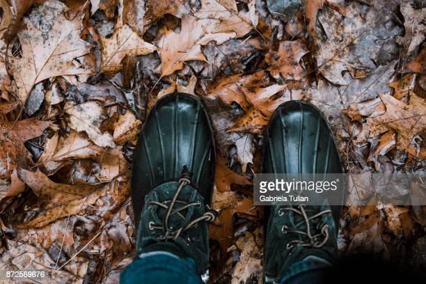 Woman outdoor in autumn