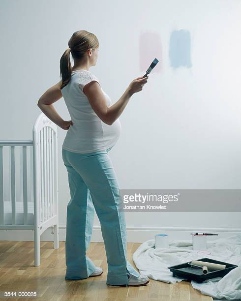 Woman Painting Nursery