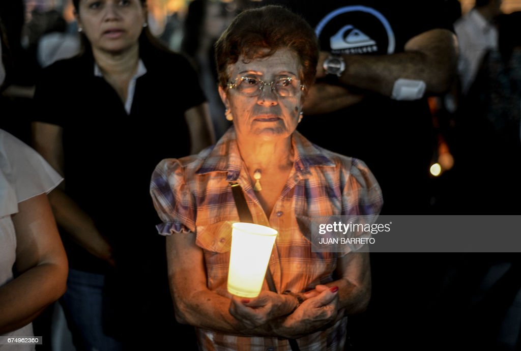 VENEZUELA-CRISIS-PROTEST-VICTIM-MARCH : News Photo