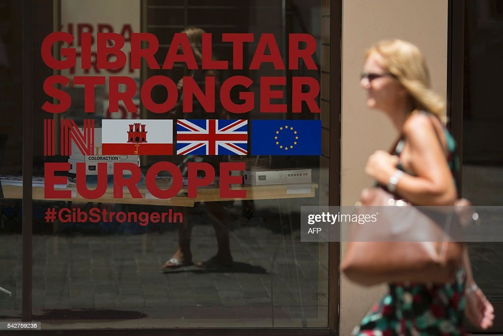 GIBRALTAR-SPAIN-EU-BREXIT : News Photo