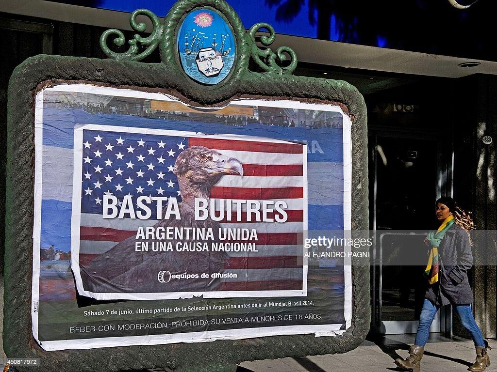 ARGENTINA-ECONOMY-DEBT-FUNDS : News Photo