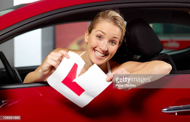 Woman passes driving test